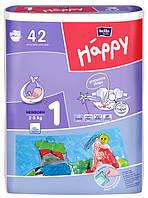 Підгузки дитячі HAPPY BELLA BABY newborn. (вага 2-5., 42 шт.)