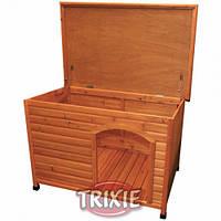 """Будка деревянная Trixie 39551 """"Natura"""" для собак с ровной крышей, фото 1"""