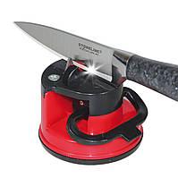 Точилка для ножей с присоской KNIFE SHAPER, электрическая точилка для кухонных ножей