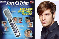 Триммер машинка для волос 568 JUST-A-TRIM, машинка-триммер Just A Trim для стрижки волос