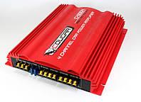 Автомобильный усилитель звука Cougar CAR AMP 500.4, 4-канальный звуковой усилитель