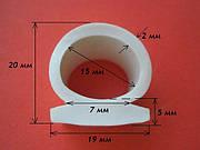 Уплотнитель силиконовый 19х20мм