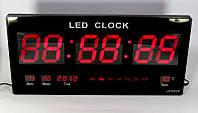 Часы электронныесветодиодные настенные CW 4600, большие цифровые часы