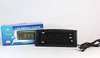 Электронные настольные часы Caixing CX-818, многофункциональные часы с будильником