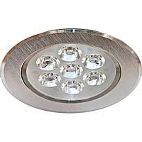 Светодиодный точечный светильник LED LAMP 3W, врезной круглый светильник