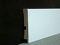 Плинтус напольный прямой белый  12*79*2800 мм (ПП1279)