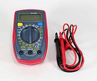 Мультиметр универсальный DT UT33B, компактный измерительный прибор мультиметр, цифровой тестер мультиметр