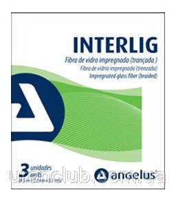 Angelus Interlig — лента для шинирования, пропитанная композитом (3 полоски по 8,5см*2мм*0,2 мм)