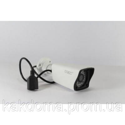 Камера видеонаблюдения iP наружная UKC 134SIP, уличное видеонаблюдение, ip камера уличная - Интернет-магазин Как Дома в Киеве
