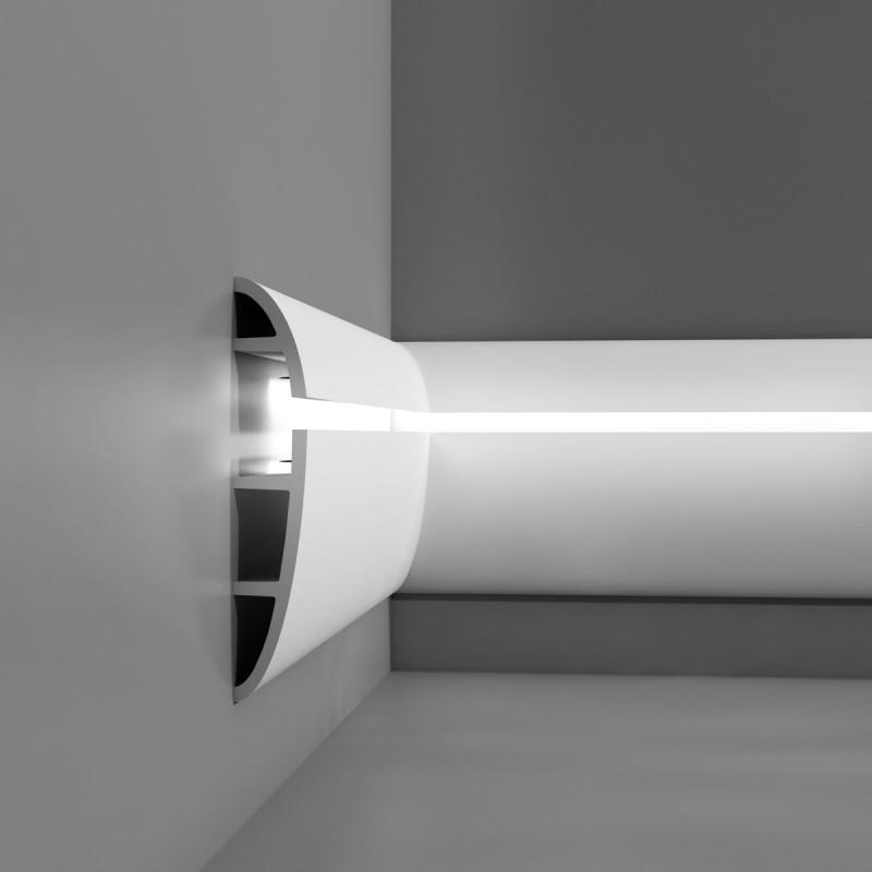 Лепнина Орак декор C373 Карниз для скрытого освещения Orac Luxxus