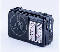 Радио с встроенным аккумулятором Golon RX-607, FM приемник с MP3 проигрывателем, радиоприемник с usb