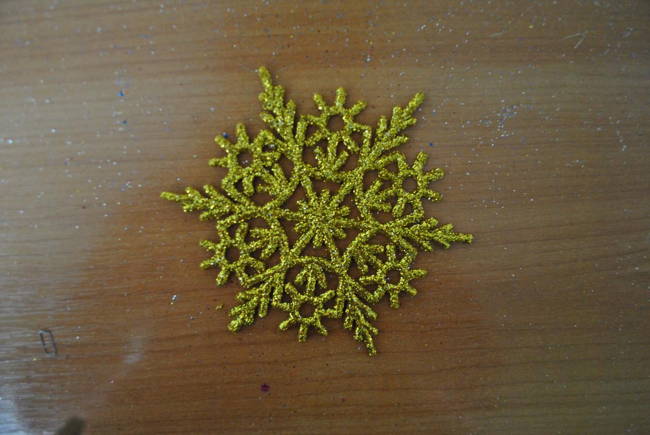 Новогоднее украшение Снежинка №3 15 см