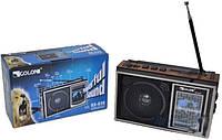 Радио с встроенным аккумулятором GOLON RX 636, FM приемник с MP3 проигрывателем