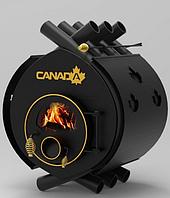 Дровяная печь «Canada» classic «ОO» со стеклом+перфорация 6 кВт