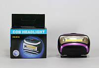 Фонарик налобный Headlight BL 2016 COB, мощный светодиодный фонарь, фонарик на голову