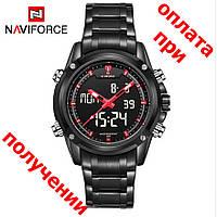 Чоловічі військові, спортивні годинник NAVIFORCE Led ОРИГІНАЛ!, фото 1