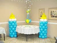 Бутылочки из шаров