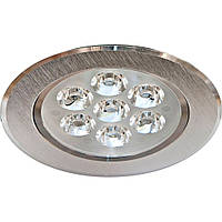 Потолочный точечный светильник LED LAMP 7W, светодиодный врезной светильник