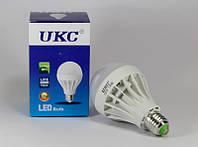 Лампочка светодиодная круглая LED LAMP E27 12W UKC, энергосберегающая лампа