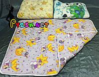 Зимнее стеганое детское одеяло 100х140 см, цвет на выбор