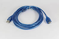 Кабель удлинитель USB 2.0 a/f 3m, удлинитель usb 3 метра
