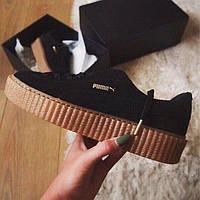 Кроссовки женские Rihanna x Puma Suede