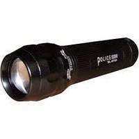 Фонарик металлическийPolice BL-8700, светодиодный ручной фонарь, карманный фонарик