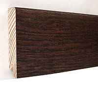 Плинтус деревянный (шпон) Kluchuk Модерн Дуб коньяк 80х18х2400 мм.