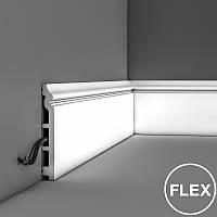 Гибкий плинтус SX118F, фото 1