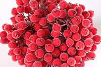 Сахарные ягодки (калина в сахаре),  38-40 шт/уп. красного цвета