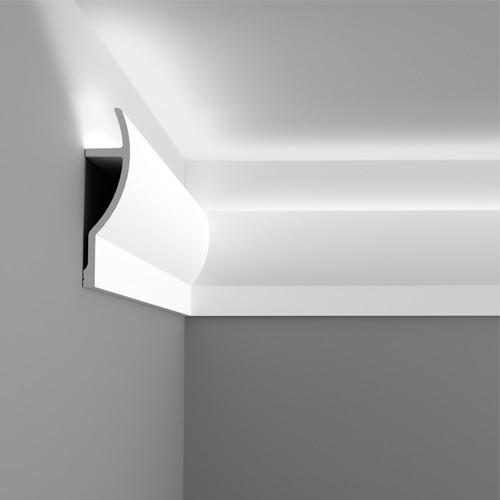 Лепнина Орак декор C372 Карниз для скрытого освещения Orac Luxxus