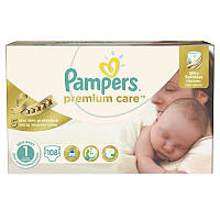 Подгузники Pampers Premium Care New Born 1(2-5 кг) Mega Box 176 шт.