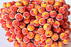 Сахарные ягодки (калина в сахаре),  38-40 шт/уп. желто-оранжевого цвета