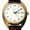 Советские позолоченные часы Полет