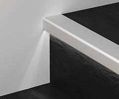Профиль G/8/SF для защиты ступеней с LED подсветкой