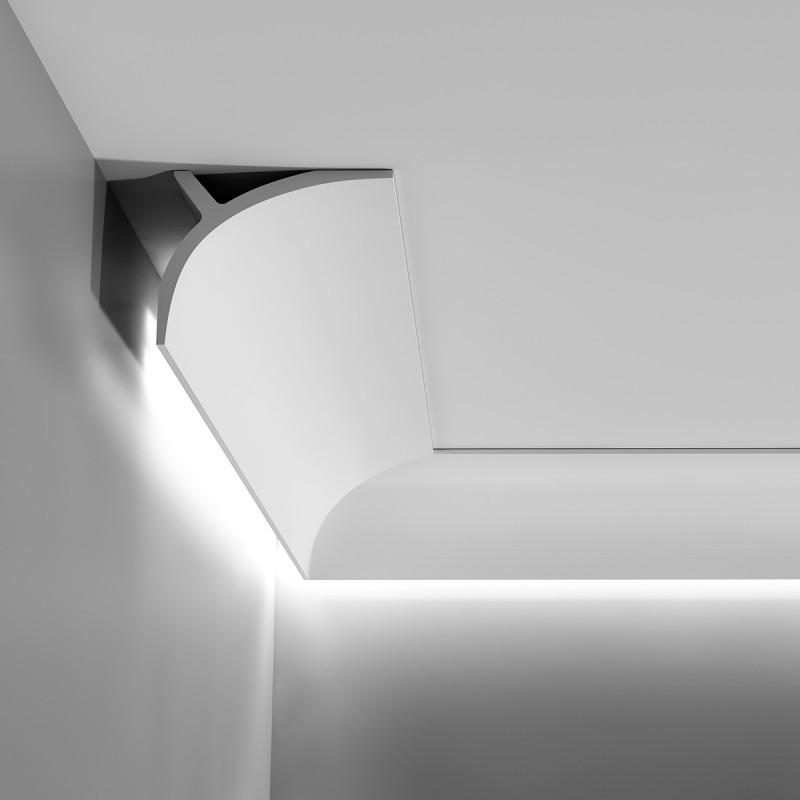 Лепнина Орак декор C991 Карниз для скрытого освещения