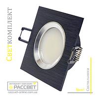 Алюминиевый светильник Светкомплект HDL-AS20 BLAL Венге (встраиваемый потолочный)