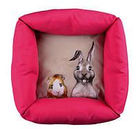 "Лежак Trixie 6280 ""Honey and Hopper"" для кролика 33 см/33 см"