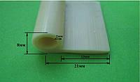 Уплотнитель силиконовый 8мм для дверей, фото 1