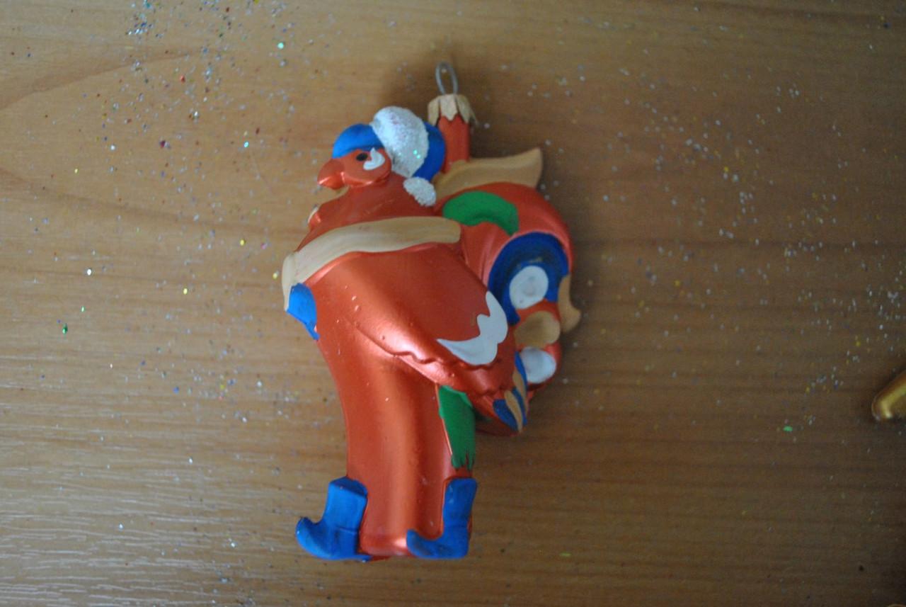 Новогодняя игрушка Петушок