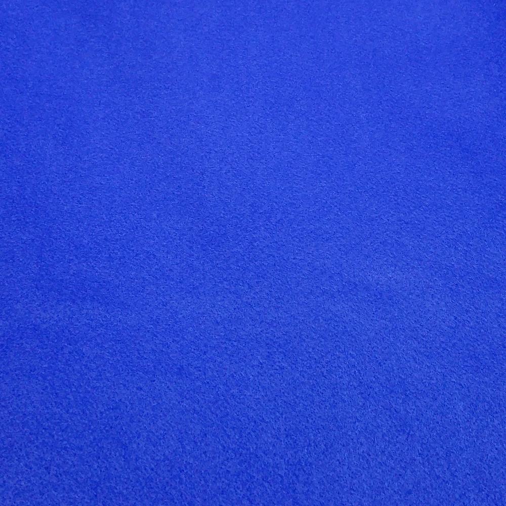 Фетр корейский мягкий 1.2 мм, 30x44 см, СИНИЙ