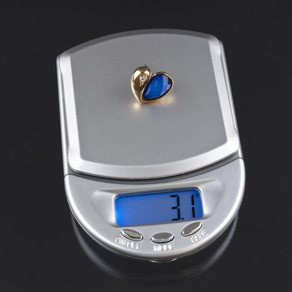 Весы точные ювелирные diamond A04, карманный формат, съемная крышка, функция обнуления, 500г