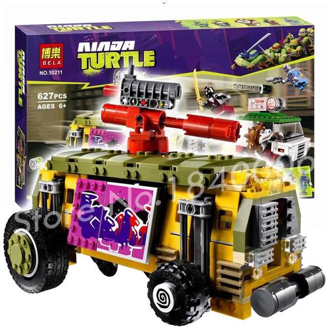 Детский конструктор Ninja Turtle  Bela 10211