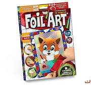 Набор Аппликация цветной фольгой Foil Art (FAR-01-01,02,03...10)