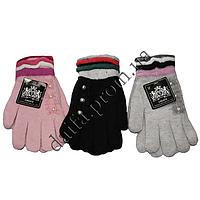 Женские перчатки T1304 (двойная вязка) оптом в Одессе