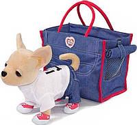 Собачка Чи Чи лав Чихуахуа Джинсовый стиль с сумочкой