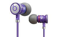 Вакуумная гарнитура Monster Beats by Dr. Dre (iBeats) purple