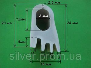Профиль силиконовый 26х15мм