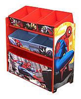 Органайзер для игрушек с ящиками Человек Паук Delta Spiderman Multi-Bin Toy Organizer