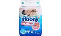 Подгузники д/новорожденных Moony NB (0-5 кг) RS90
